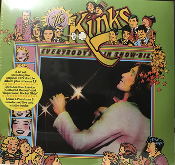 VINIL Universal Records Kinks - Everybody Is In The Show