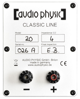 Boxe Audio Physic Classic 20 Glass