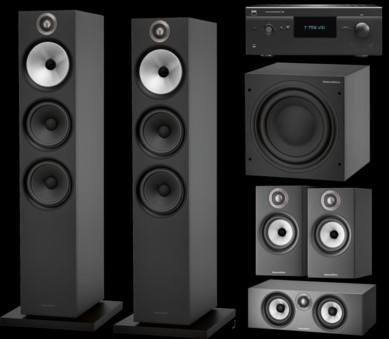 Pachet PROMO Bowers & Wilkins 603 S2 Anniversary Edition pachet 5.1 + NAD T 758 V3i