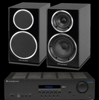 Wharfedale Diamond 225 + Cambridge Audio Topaz SR20