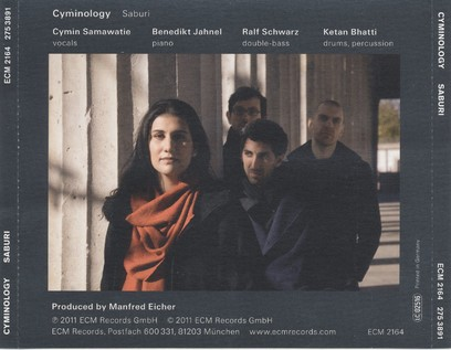 CD ECM Records Cyminology: Saburi