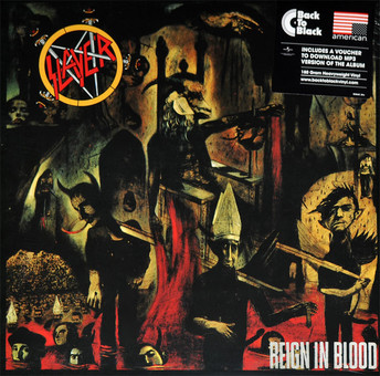 VINIL Universal Records Slayer - Reign In Blood