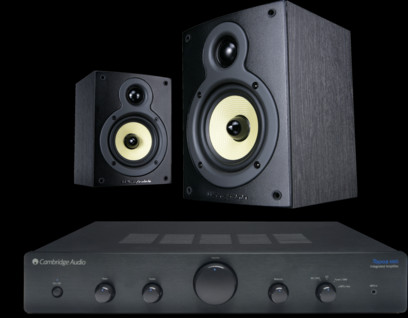 Pachet PROMO Wharfedale Crystal 4.1 + Cambridge Audio Topaz AM5