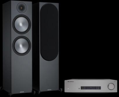 Pachet PROMO Monitor Audio Bronze 500 + Cambridge Audio CXA81