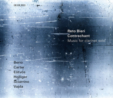 CD ECM Records Reto Bieri: Contrechant - Music for Clarinet solo