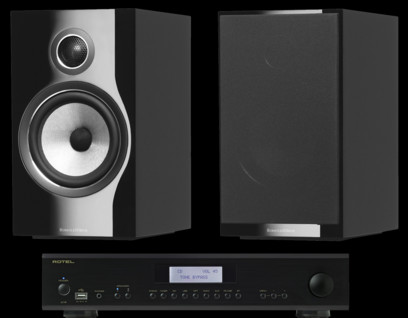Pachet PROMO Bowers & Wilkins 706 S2 + Rotel A-14