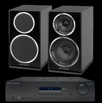 Wharfedale Diamond 225 + Cambridge Audio Topaz SR10