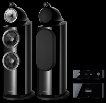 Pachet PROMO Bowers & Wilkins 802 D3 + Rotel Michi P5 si S5