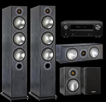 Pachet PROMO Monitor Audio Bronze 6 pachet 5.0 + Denon AVR-X2600H