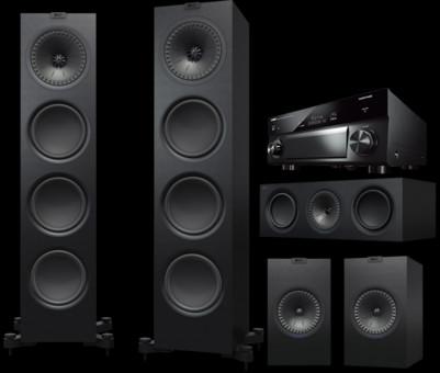 Pachet PROMO KEF Q950 pachet 5.0 + Yamaha RX-A1080