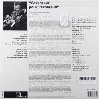 VINIL Universal Records Miles Davis - Ascenseur Pour Echafaud