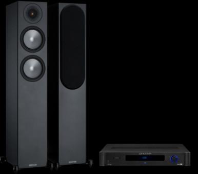 Pachet PROMO Monitor Audio Bronze 200 + Emotiva BasX TA-100