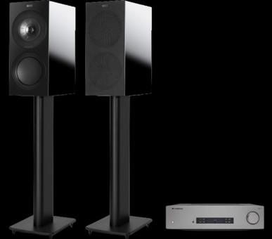 Pachet PROMO KEF R3 + Cambridge Audio CXA81
