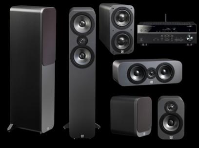 Pachet PROMO Q Acoustics 3050 5.1 pack + Yamaha RX-V481