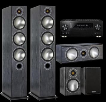 Pachet PROMO Monitor Audio Bronze 6 pachet 5.0 + Pioneer VSX-933