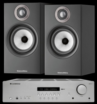 Pachet PROMO Bowers & Wilkins 607 S2 Anniversary Edition + Cambridge Audio AXR85