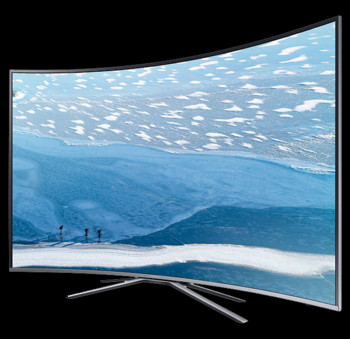 TV Samsung 43KU6502, UHD Curbat, Smart, 108 cm