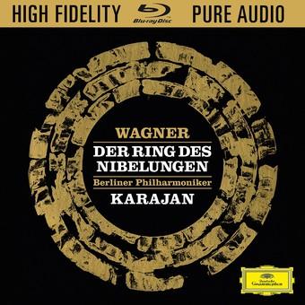 CD Deutsche Grammophon (DG) Wagner: Der Ring des Nibelungen ( Karajan - Dernesch, Moser, Ridderbusch, Dieskau ) BluRay Audio