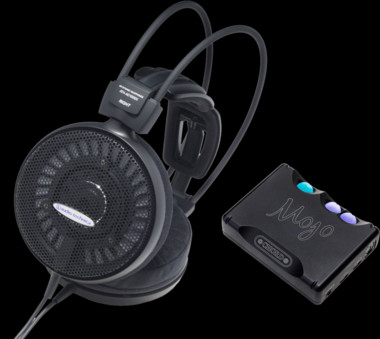 Pachet PROMO Audio-Technica ATH-AD1000X + Chord Mojo
