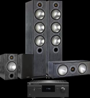 Pachet PROMO Monitor Audio Bronze 6 5.0 + NAD T758 V3