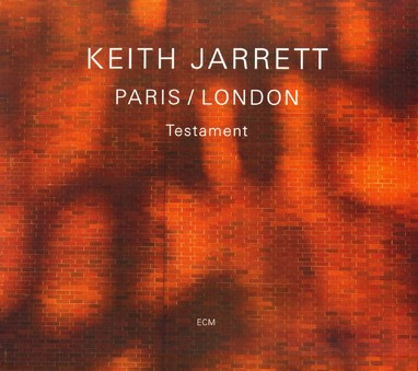 CD ECM Records Keith Jarrett: Testament. Paris / London