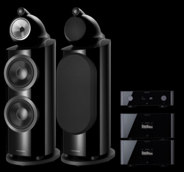 Pachet PROMO Bowers & Wilkins 800 D3 + Rotel Michi P5 si 2 x M8