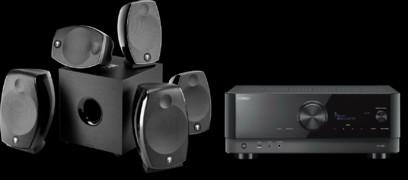 Pachet PROMO Focal Sib EVO Dolby Atmos 5.1.2 + Yamaha RX-V6A