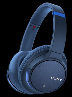 Casti Sony WH-CH700N, wireless, active noise cancelling, 35ore baterie