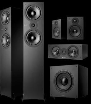 Pachet PROMO Cambridge Audio SX80 5.1 pack Matt Black