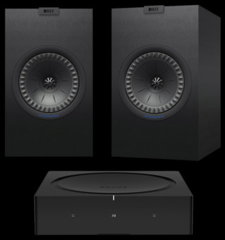 Pachet PROMO KEF Q350 + Sonos AMP