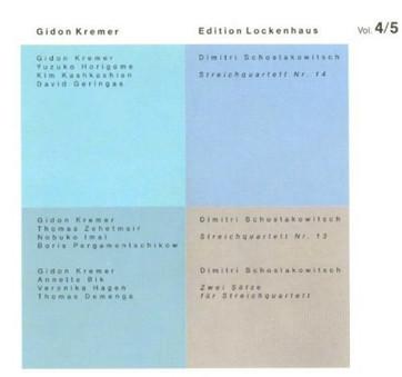 VINIL ECM Records Gidon Kremer / Edition Lockenhaus, Vol.4&5