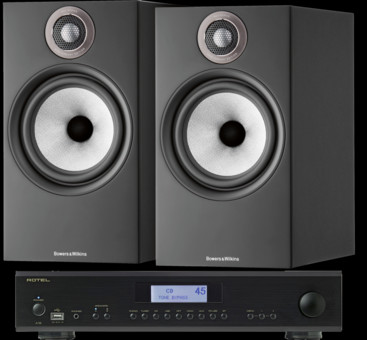 Pachet PROMO Bowers & Wilkins 606 S2 Anniversary Edition + Rotel A-12