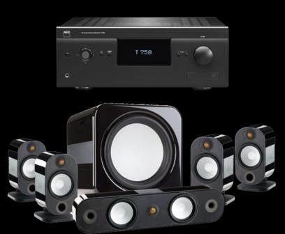 Pachet PROMO Monitor Audio Apex pachet 5.1 + NAD T758 V3i