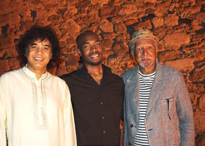 CD ECM Records Charles Lloyd, Zakir Hussain, Eric Harland: Sangam