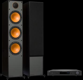 Pachet PROMO Monitor Audio Monitor 300 + NAD C 338