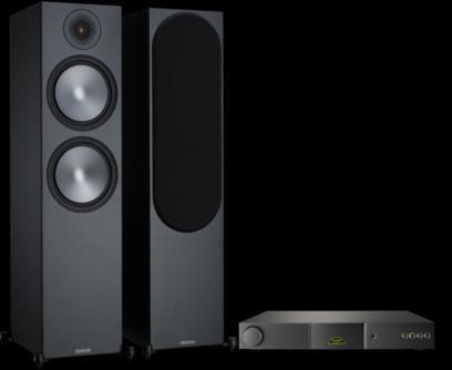 Pachet PROMO Monitor Audio Bronze 500 + Naim Nait 5SI