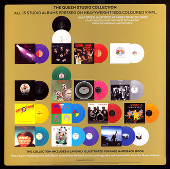 VINIL ProJect Queen - Complete Studio Album Collection