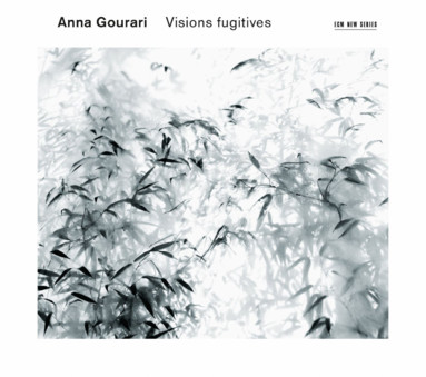 CD ECM Records Anna Gourari: Visions fugitives