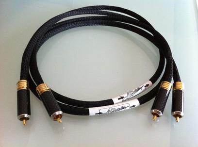 Cablu A Charlin RCA Black 1000 MK I