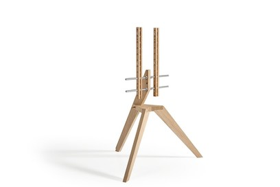 Vogel's Next OP1 Light Oak Floorstand