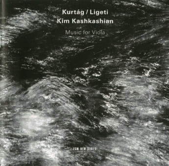 CD ECM Records Kim Kashkashian - Kurtag, Ligeti: Music For Viola