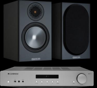 Pachet PROMO Monitor Audio Bronze 50 + Cambridge Audio AXA35