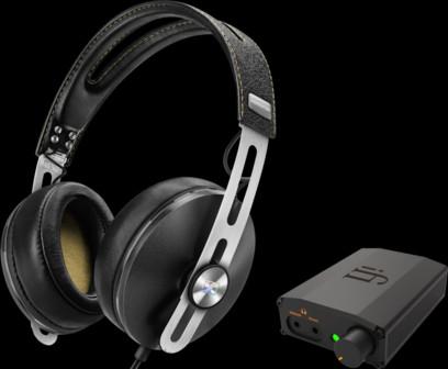 Pachet PROMO Sennheiser Momentum Over-Ear (M2) + iFi Nano iDSD Black