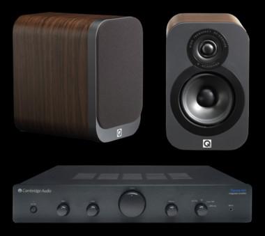 Q Acoustics 3010 + Cambridge Audio Topaz AM5