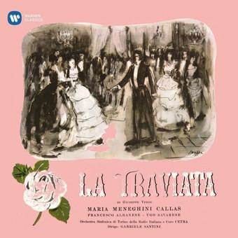 VINIL WARNER BROTHERS Maria Callas - La Traviata (1953 Studio Recording)