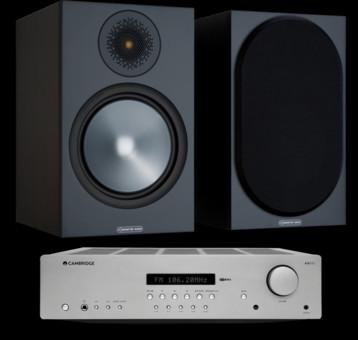 Pachet PROMO Monitor Audio Bronze 100 + Cambridge Audio AXR85