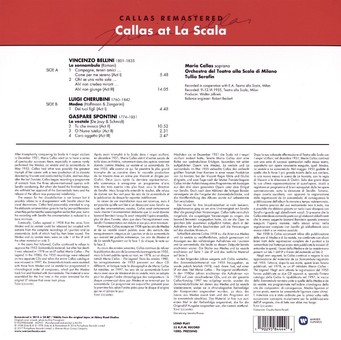 VINIL WARNER BROTHERS Maria Callas - Callas At La Scala