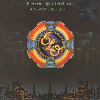 VINIL Universal Records Electric Light Orchestra (ELO) - A New World Record