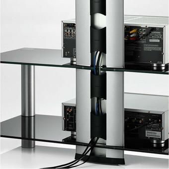 Comoda cu suport TV  NEO - 1303-B-SLV