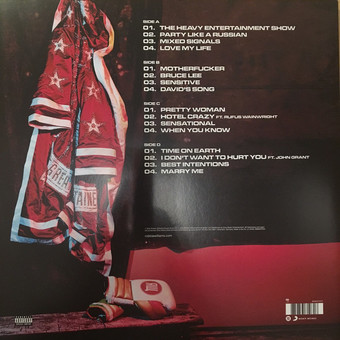 VINIL Universal Records Williams, Robbie - The Heavy Entertainment Show (Deluxe)